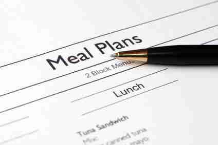 Ernährungsplan zur Hilfe beim Abnehmen