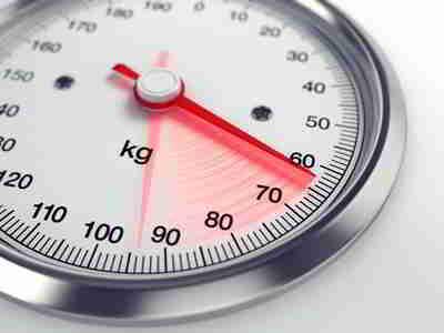 Körpergewicht immer unter Kontrolle