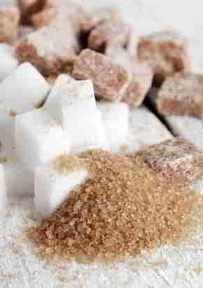 Zucker findet sich in fast jedem Lebensmittel