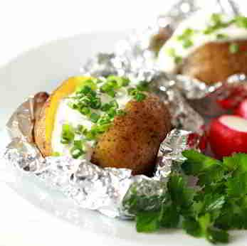 Kartoffeln für eine Diät