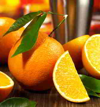 Orangen: wenig Kalorien und viel Geschmack
