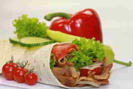 Dürüm - Kalorien nach Wunsch