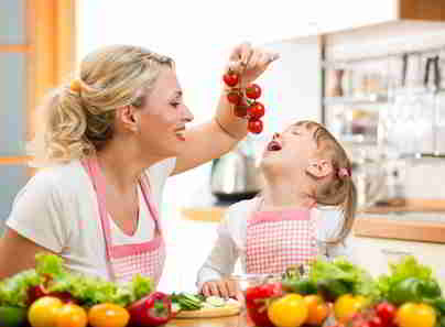 Kalorienarme Tomate