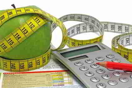 Kalorien für den Tagesplan berechnen
