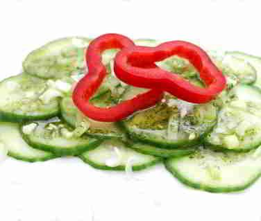 Kalorien Gurken. Gurken, ein ideales Gemüse