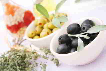 Kalorien Oliven