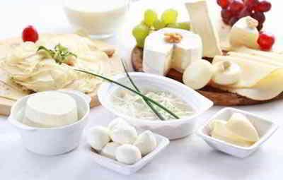 Kalorientabelle-Milcherzeugnisse
