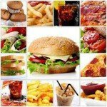 Kalorientabelle mit Fast Food