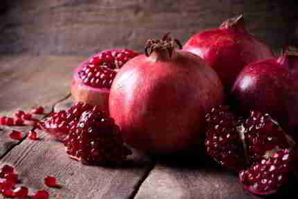 kalorientabelle granatapfel
